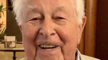 Richard Föhr, ehemaliger Leiter des Hauses der Jugend, wird heute 90 Jahre alt.