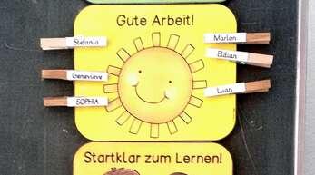 Am Sonderpädagogischen Bildungs- und Beratungszentrum Wolfach ist zum Start ins neue Schuljahr alles bereit zum Lernen.