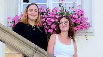 Als Jugendleiterinnen beim Appenweierer Musikverein sorgen sich Marie Souillard (links) und Sabrina Huber um die Nachwuchsmusiker.