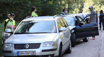 Unter anderem an der L98 zwischen Offenburg und Neuried zeigte die Polizei Präsenz.