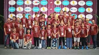 Der Nachwuchs des ASV Urloffen – hier im Rahmen der EM der Junioren in Dortmund – soll noch besser gefördert werden.