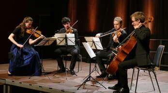 Konzert mit großer Aussagekraft: das Eliot Quartett in der Kehler Stadthalle.