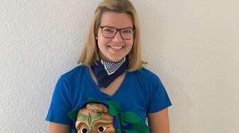 Lorena Mildner ist bei den Pflumedruckern Schutterwald Leiterin der Teenie-Showtanzgruppe, ist Aktive der Spättle und Beisitzerin für Finanzen.