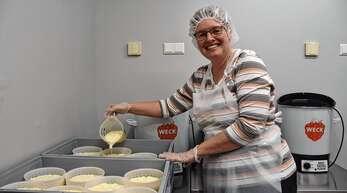 Mit der neuen Käserei möchten Sabine und Jürgen Kimmig ihren Milchviehbetrieb in Hesselbach erhalten.