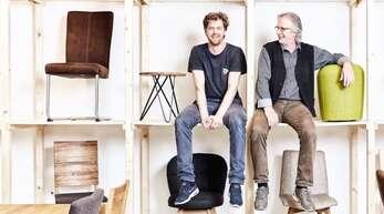 Alexander und Inhaber Jürgen Venzke führen den Familienbetrieb in der zweiten Generation.