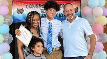 Wenzel Lewinsky aus Nußbach lebt mit seiner Familie in Florida.