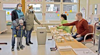 Wie schon bei der Landtagswahl im März gelten bei der Bundestagwahl am Sonntag strenge Hygienevorschriften in den Wahllokalen. Doch dort kreuzen im Renchtal ohnehin viele Wähler nicht mehr auf.