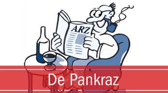 """Jeden Samstag unterhält """"De Pankraz"""" unserer Leser."""