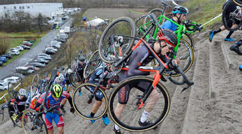 Den Radsportlern wird bei der Cyclocross in der kommenden Woche wieder alles abverlangt.