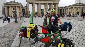 Diesen Sommer radelten Ilona und Andreas Schweizer bis nach Oslo und zurück. Stationen waren Berlin (Foto), Kopenhagen und Stockholm.