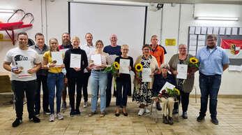 Die Acherner DLRG ehrte ihre Mitglieder.