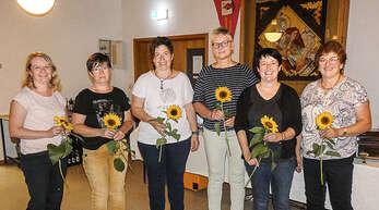 Der alte Vorstand ist der neue (von links): Simone Spinner, Annerose Streif, Maria Schwarz, Kati Isenmann, Carola Bohnert, Margarete Vollmer. (Auf dem Foto fehlen: Martina Webering, Julia Vollmer).
