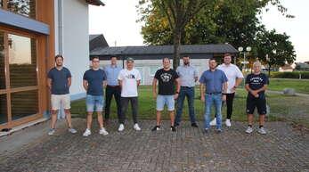 Lenken künftig die Geschicke des SV Waltersweier (von links): Tobias Obreiter, Kevin Jürck, Patrick Hoffmann, Oliver Raufeisen, Tino Gaß, Jochen Matt, Daniel Gebhard, Dominik Balzer und Thomas Pelz.