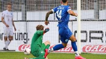 Markus Obernosterer erzielte gegen Neckarslulm den Siegtreffer.