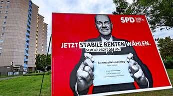 SPD-Kanzlerkandidat Olaf Scholz verspricht stabile Renten. Doch ist das überhaupt möglich?
