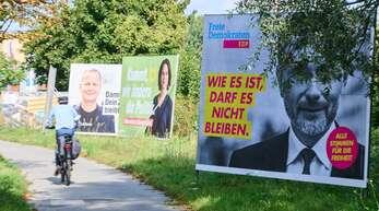 In den Umfragen liegt derzeit die SPD an der Spitze.