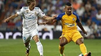 Apoel Nikosia schaffte es im Jahr 2012 bis ins Viertelfinale der Champions League. Erst dort scheiterte das Team aus Zypern an Real Madrid.