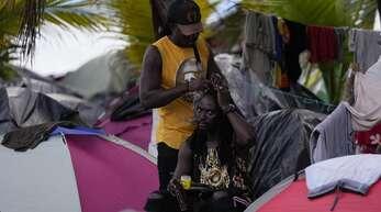 Flüchtlingslager in Kolumbien