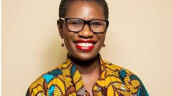 Die Bürgermeisterin von Freetown, der Hauptstadt von Sierra Leone
