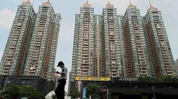 Evergrande hat in China zahlreiche Apartmentblöcke errichtet.