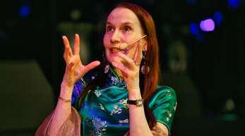 Stargast in Bühl: Brigitte Millar, die eine Gegenspielerin von James Bond verkörperte.