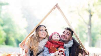 Für viele Familien wird der Traum aktuell wahr: das eigene Häuschen.