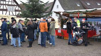 In diesem Jahr soll es am 4. Dezember auf und rund um den Sander Dorfplatz wieder einen Weihnachtsmarkt geben