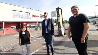 Freuen sich über die Zusammenarbeit der bwlv und der BSW im Bereich der betrieblichen Sozialberatung (von links): Michéle Falch (bwlv), Julius Felder (BWS) und Hannes Krüger (bwlv).