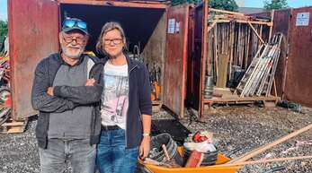 Arbeitseinsatz mit vielen Eindrücken: Heike und Vlado Malisic waren im September im Ahrtal, um im Flutkatastrophengebiet zu helfen.