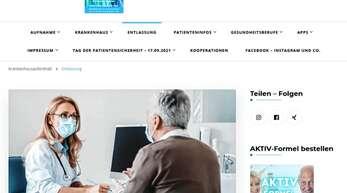Kernstück ist die Website Klinikkompass.de, die er selbst konzipierte und erstellte