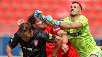 Der aus Friesenheim stammende Kai Eisele hält sich derzeit beim Karlsruher SC fit und wartet auf einen neuen Arbeitgeber.