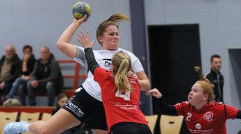 Tatjana Harter steuerte neun Treffer zum ASV-Sieg bei.