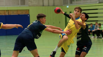 Bastian Meißner von der SG Pforzheim/Eutingen war nicht aufzuhalten und erzielte 21 Treffer.