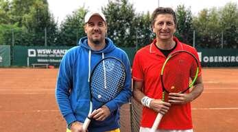 Martin Steindorf (rechts) unterlag Johannes Fröhlich im Finale der TCO-Clubmeisterschaft.