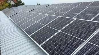 Nicht nur bei städtischen Gebäuden wie hier bei der Maiwaldhalle in Wagshurst wird die Stadt Achern auf erneuerbare Energien setzen.