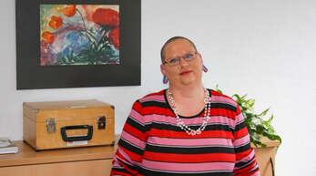 Tanja Scherer hat das Borderline-Syndrom. Heute engagiert sie sich als Expertin in eigener Sache.