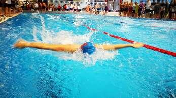 Mehr als zwei Jahre lang mussten die Nachwuchsschwimmer coronabedingt auf die deutschen Jahrgangsmeisterschaften warten.