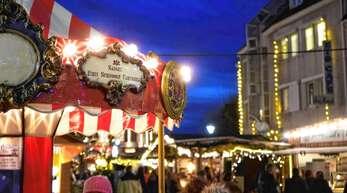 Der Weihnachtsmarkt in Achern soll in diesem Jahr stattfinden.