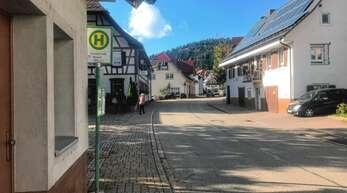 Die Bushaltestelle Kinzigstraße in Fischerbach wird voraussichtlich verlegt.