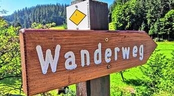 Immer der Raute nach – hier auf dem Bollenhut-Talwegle in Kirnbach: Die Schwarzwaldvereins-Ortsgruppe Wolfach nimmt heute noch Vorschläge für den Wanderplan 2022 an.
