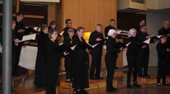 Der Motettenchor aus Pforzheim unterhielt in Altenheim prächtig.