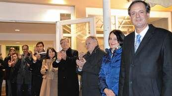 Am 18. Januar 2015 konnte OB Matthias Braun die Glückwünsche zur Wiederwahl entgegennehmen. Acht Jahre später wird Braun nicht mehr kandidieren.