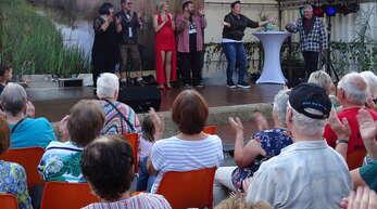 Seinen letzten großen Auftritt hatte das Helmlinger Rhinschnoog-Theater beim Straßenfest vor zwei Jahren.