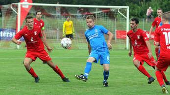Marco Cybard und der FV Rammersweier wollen mit einem Sieg gegen die SG Freistett/Rheinbischofsheim das Finale des Bezirkspokals erreichen.