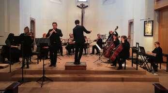 Suzanne Da Costa-Kunz (Violine) und Damien Galant (Oboe) spielten das Konzert für Oboe und Violine in B-Dur von Vivaldi.