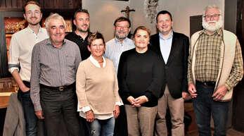 Der neu gewählte Vorstand der CDU Gengenbach (von links): Valentin Wußler, Bertold Echtle, Sven Tetz, Claudia Wußler, Bernhard Rauer, Gülperi Celik, Michael Schüle (Vorsitzender) und Albert Wußler.