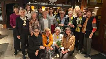 25 Jahre Inner Wheel Club Ortenau: Die Mitglieder haben das Jubiläum mit einer kleinen Feier begangen.