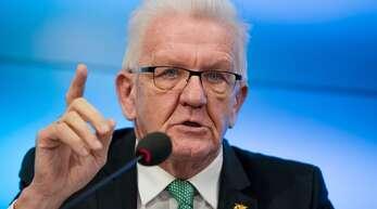 Ministerpräsident Winfried Kretschmann kann Kimmichs Haltung nicht nachvollziehen. (Archivbild)