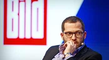 """""""Bild""""-Chef Julian Reichelt sieht sich erneut schweren Vorwürfen ausgesetzt."""