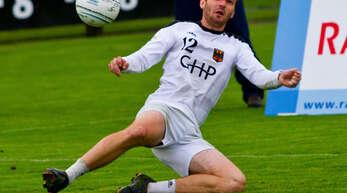 »Die Vorfreude ist riesig«, sagt Faustballer Oliver Späth aus Offenburg vor seinen ersten Pflichtspielen im Trikot der deutschen Nationalmannschaft.